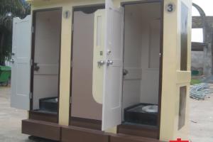 Cho thuê nhà vệ sinh di động giá rẻ tại Hà Nội