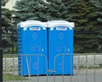 Nhà vệ sinh công trường cấp nước trực tiếp