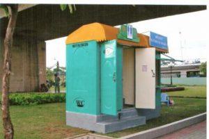 Lý do nhà vệ sinh di động được làm từ Composite
