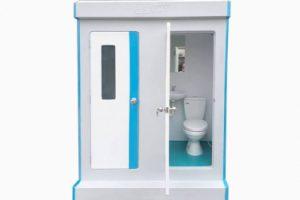 4 mẫu nhà vệ sinh di động hiện đại năm 2020