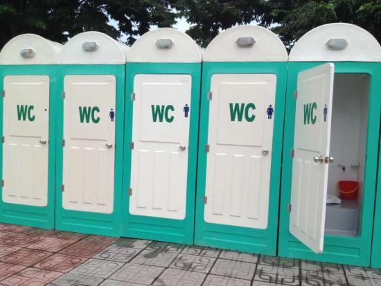 Ưu điểm vượt trội của nhà vệ sinh di động