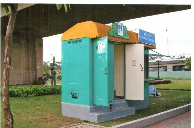 Cho thuê nhà vệ sinh tại Hà Nam