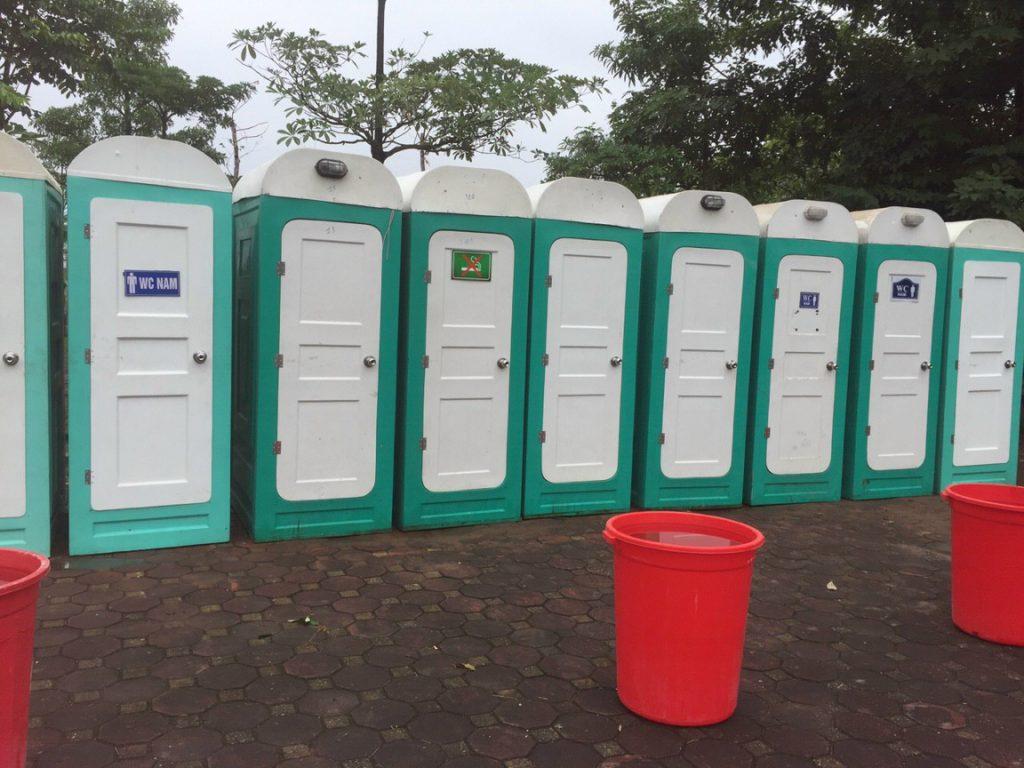Cho thuê nhà vệ sinh di động tại Hải Dương