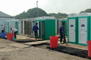 Cho thuê nhà vệ sinh di động tại Thái Bình